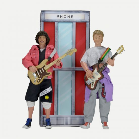 "Bill and Ted's Excellent Adventure 8"" Action Figure 2 Pack"