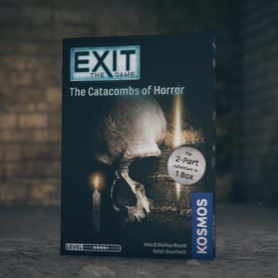 Exit Catacombs of Horror - Grey Background