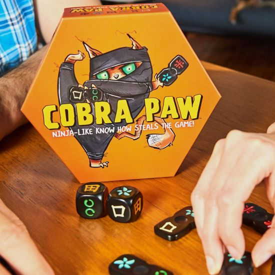 Cobra Paw Tile Game - Grey Background