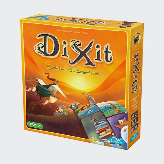 Dixit Board Game - Grey background