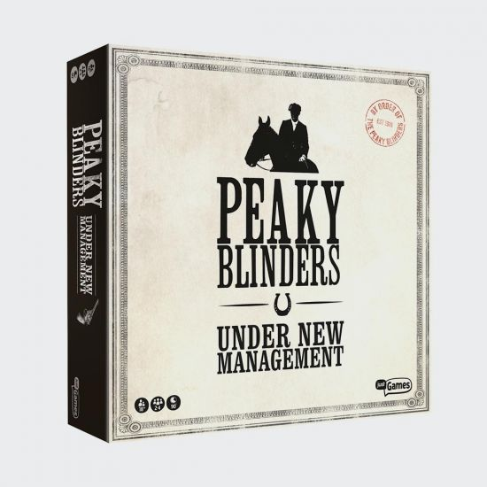 Peaky Blinders Under New Management Board Game - Grey background