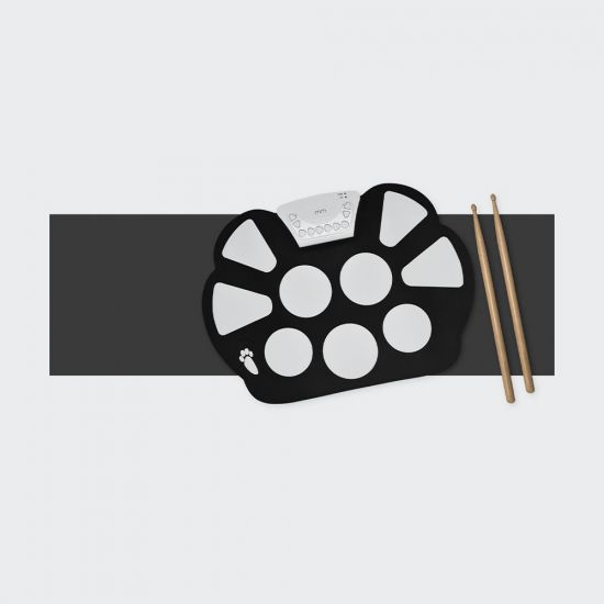 Roll Up Drum Kit - Grey Background