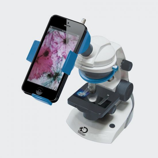 360 Super HD Microscope - grey background