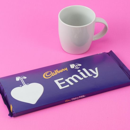 Personalised Dairy Milk Cadburys Heart Emoji 360g Lifestyle
