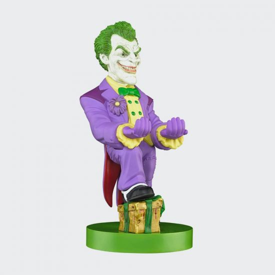 Joker Cable Guy on grey background