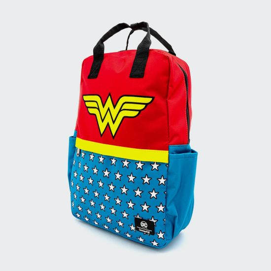 DC Wonder Woman Vintage Loungefly Laptop Backpack