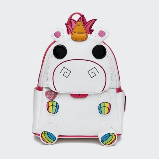 Despicable Me Minions Fluffy Unicorn Loungefly Mini Backpack