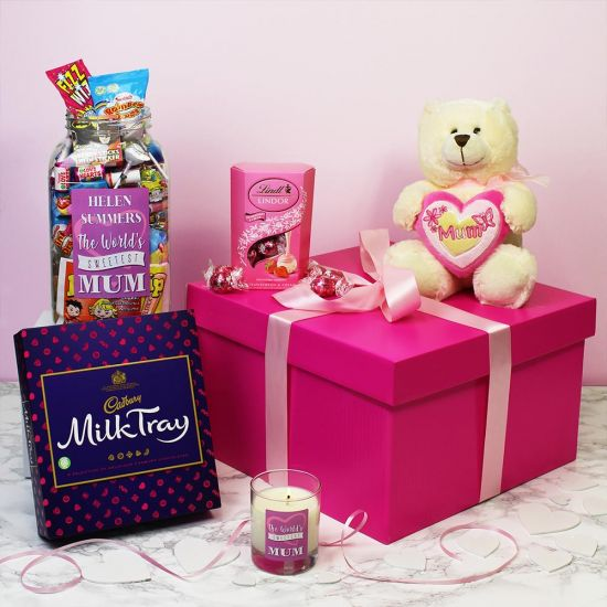 Personalised Deluxe Gift Box for Mum lifestyle
