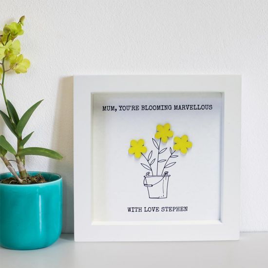Personalised Blooming Marvellous Print lifestyle