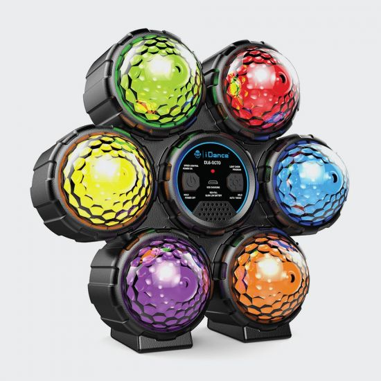 iDance Sound Activated Circle Disco Light