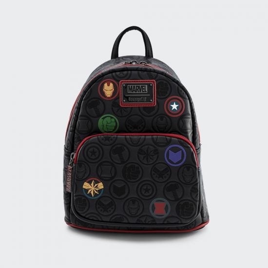 Marvel Icons All-Over-Print Loungefly Mini Backpack