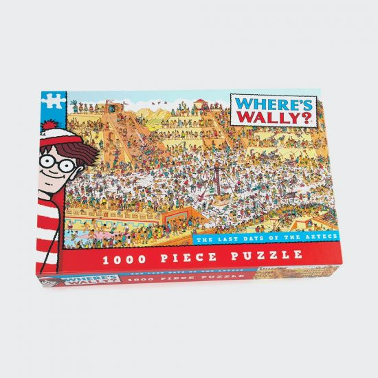 Where's Wally Aztec 1000PC - grey background