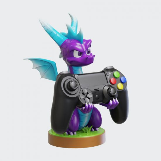Spyro Ice Cable Guy on grey background