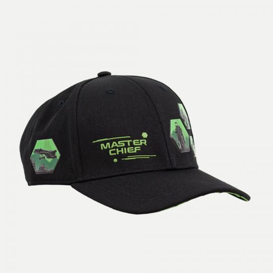 Halo Master Chief Snapback Cap – Only at Menkind!