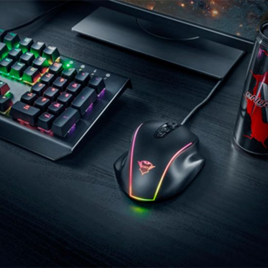 Trust GXT 165 Celox RGB Gaming Mouse - lifestyle