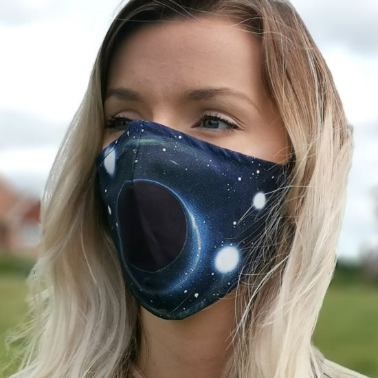 Black hole face mask
