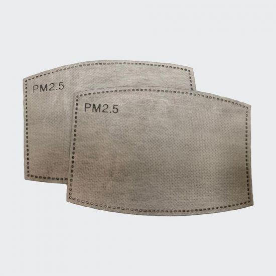 Face Mask Filters - grey background