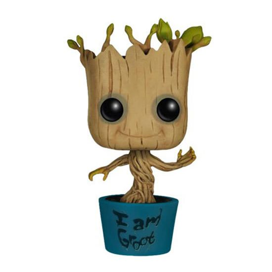 Guardians of the Galaxy Dancing Groot Funko Pop! Vinyl white background
