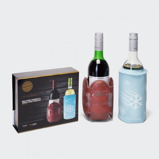 Red Wine Warmer and White Wine Chiller Set