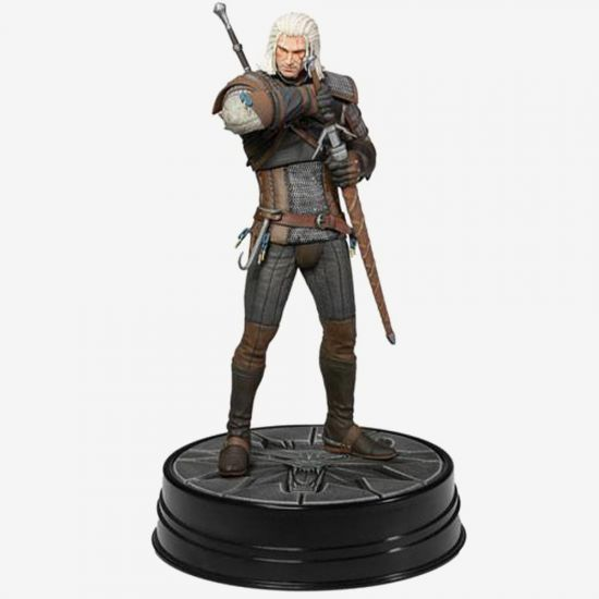 """The Witcher 3 Wild Hunt Geralt Heart of Stone 9"""" Statue"""