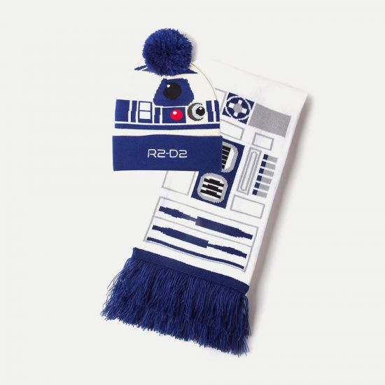 Star Wars R2-D2 Beanie and Scarf Gift Set