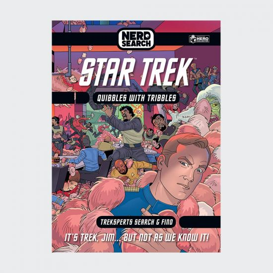Star Trek Nerd Search Quibbles With Tribbles