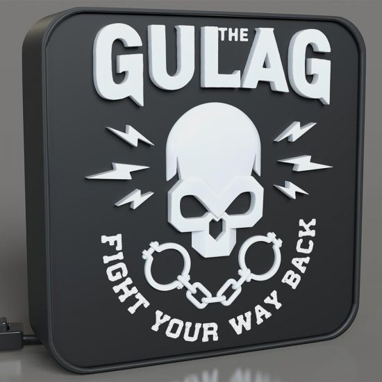 Call of Duty Warzone Gulag 3D Desk Lamp