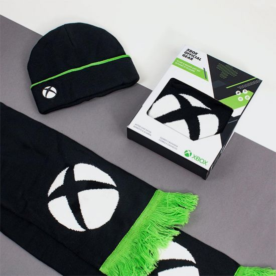 Microsoft Xbox Beanie and Scarf Gift Set