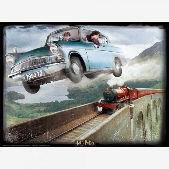 Harry Potter Ford Anglia 3D Puzzle – 500 Pieces