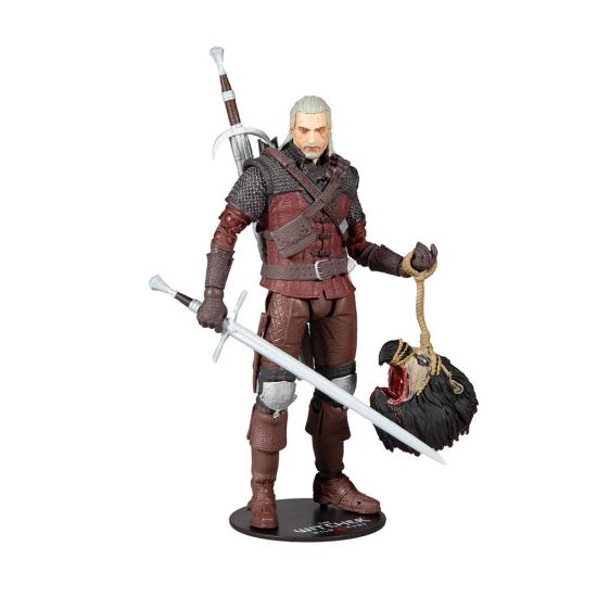 """The Witcher Geralt in Wolf Armour 7"""" Action Figure"""