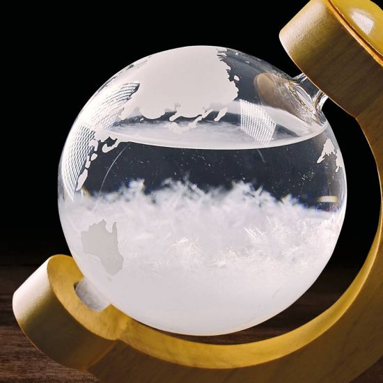 Storm Globe with Stand