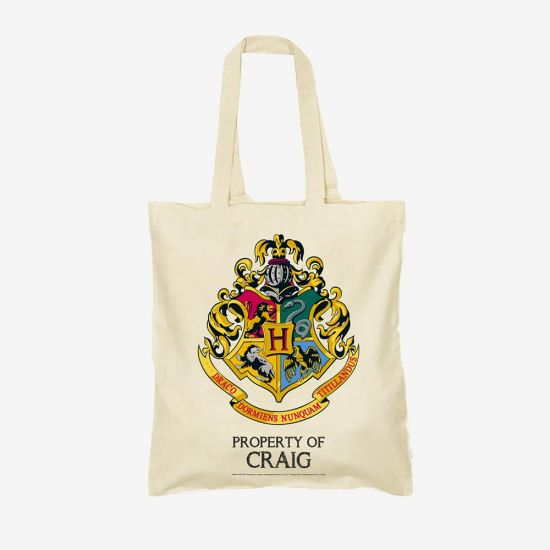 Harry Potter Hogwarts Personalised Tote Bag