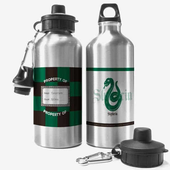 Harry Potter Personalised Water Bottle – Slytherin