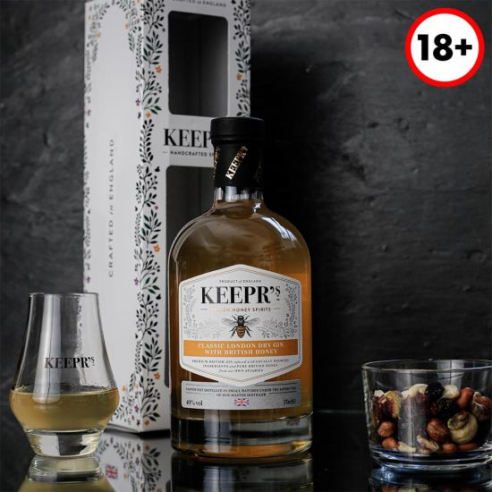 Keepr's Honey Gin Tasting Gift Box