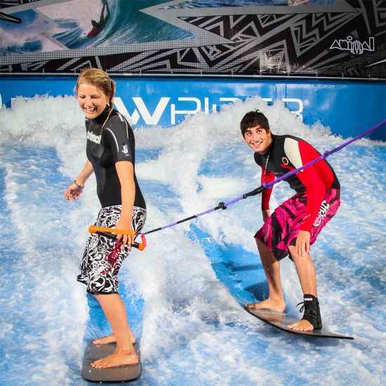 Indoor Surfing Experience at Twinwoods