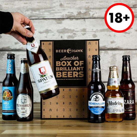 Beer Hawk World Lager Discovery Case – 6 World Beers