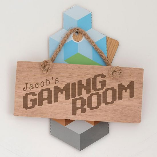 Personalised Gaming Room Sign
