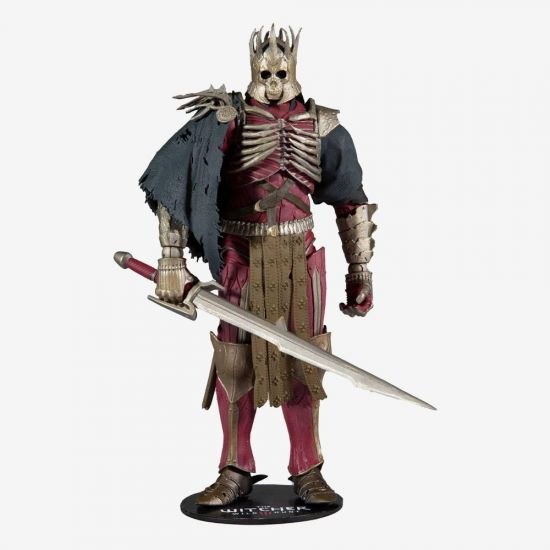 """The Witcher Eredin 7"""" McFarlane Action Figure with sword"""