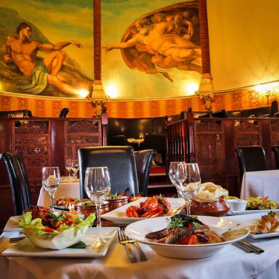 Unique Places to Dine for Two