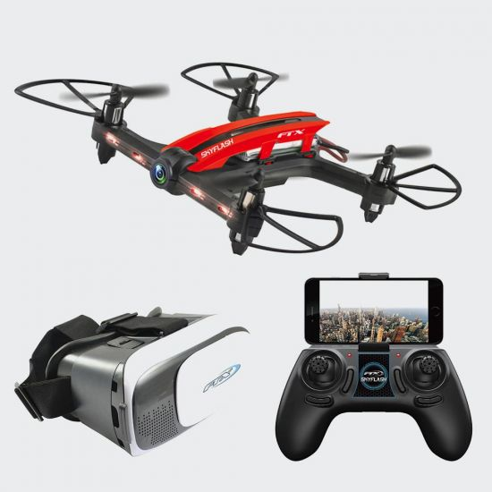 FTX Skyflash Racing Drone Set - Grey BAckground