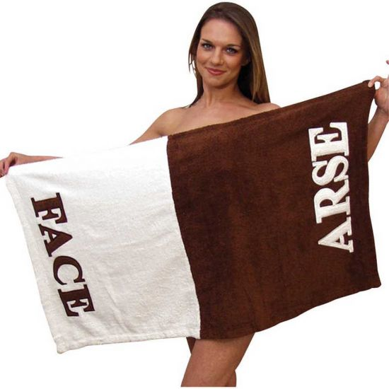 Arse / Face Towel