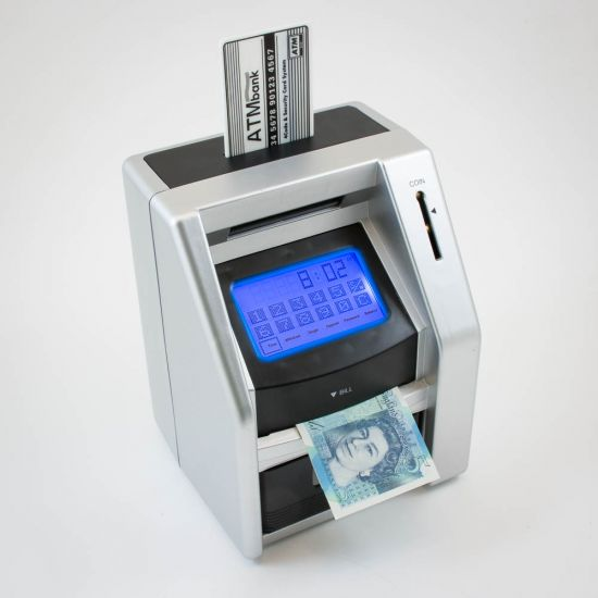 ATM Bank Touch Screen