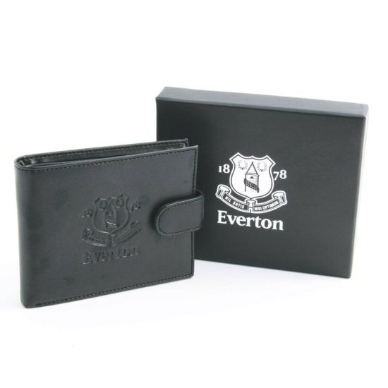 Black Leather Everton Wallet