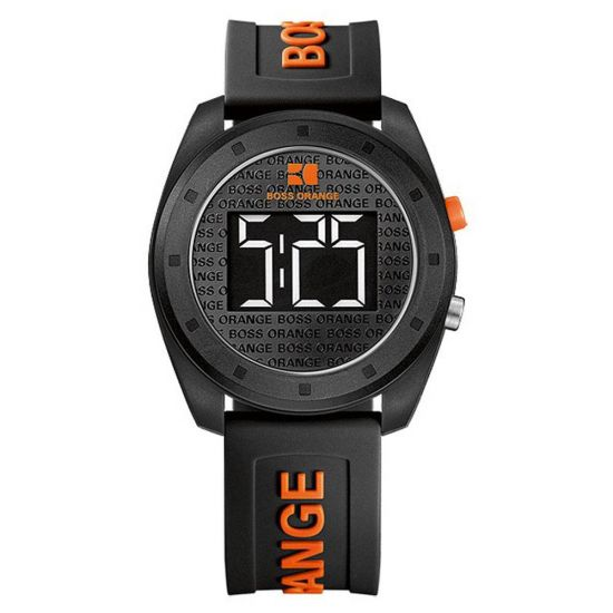 Boss Orange Black Digital Watch
