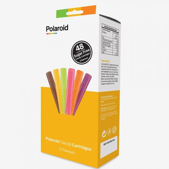Mixed Flavours Polaroid Candy Cartridges for Candy Play 3D Pen