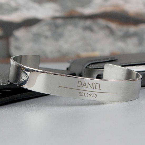 Classic Stainless Steel Bangle 1
