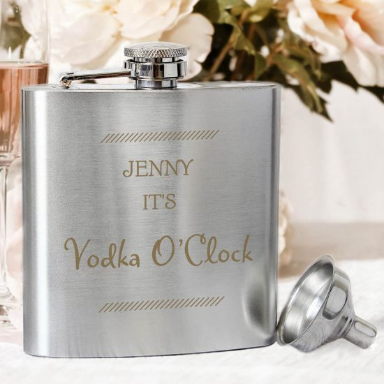 Classic Stainless Steel Hip Flask 1