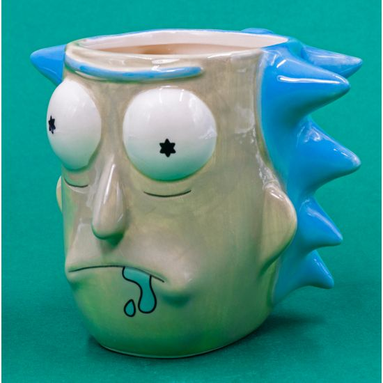 Rick and Morty 3D Rick Sanchez Mug