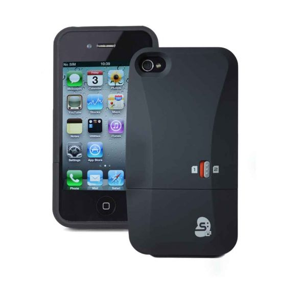 Dual Sim Case for iPhone 4/4S