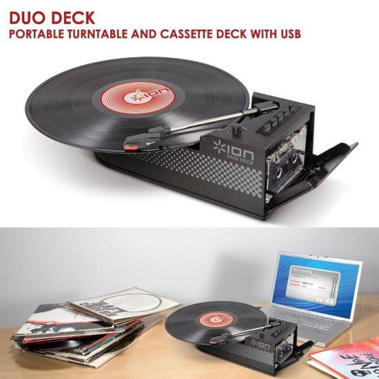 Duo Turntable and Cassette Deck